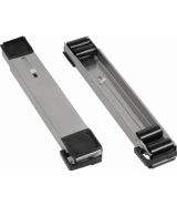 pair of rollers silver